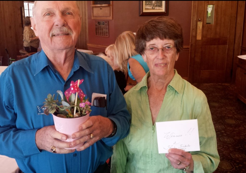 Opportunity Drawing winners, David and Paula April 2016
