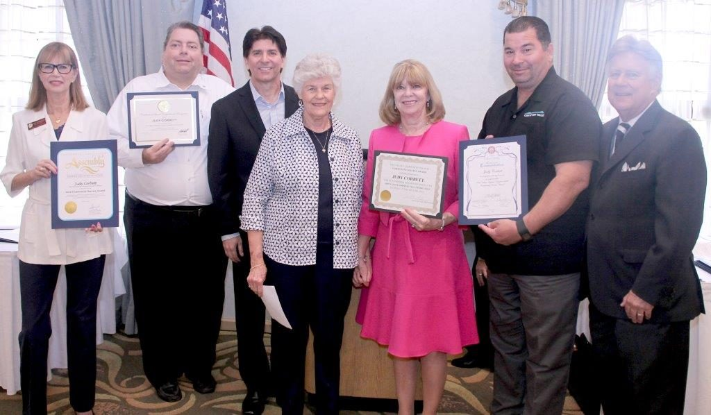 Community Service Award for Simi Valley Hospital Volunteer Guild and Foundation - Judy Corbett